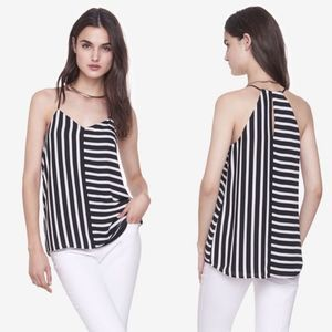 Express Striped Barcelona Cami Tank Top Blouse XS